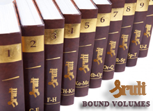 Bound Volumes