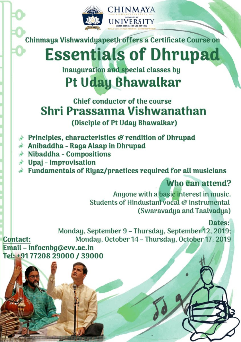 Essentials Of Dhrupad