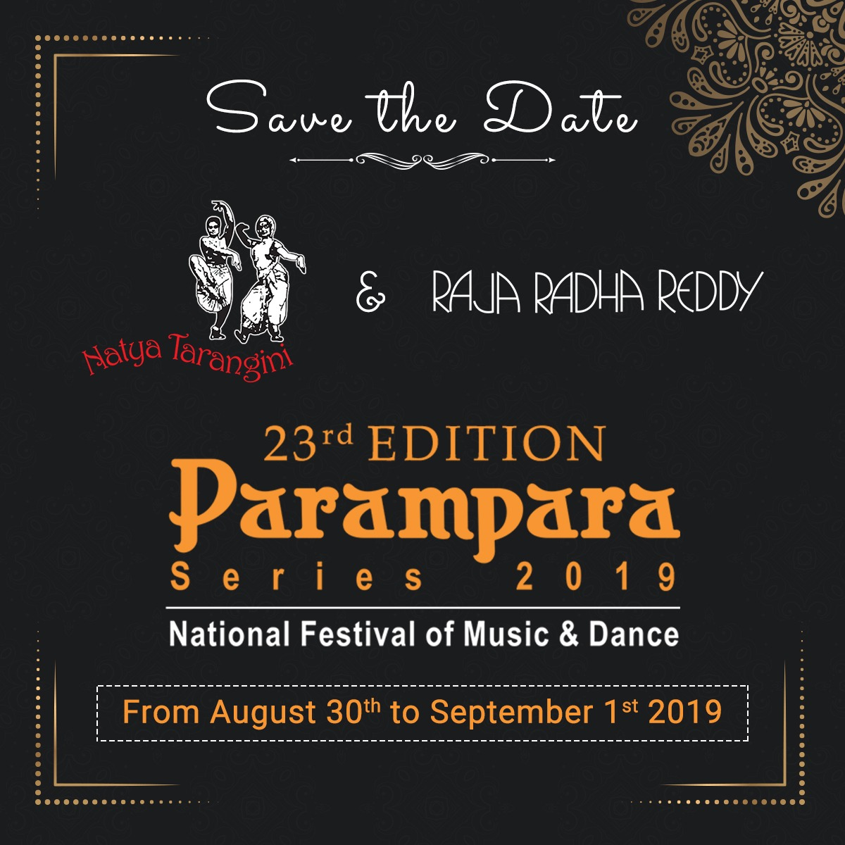 23rd Edition Parampara Series 2019