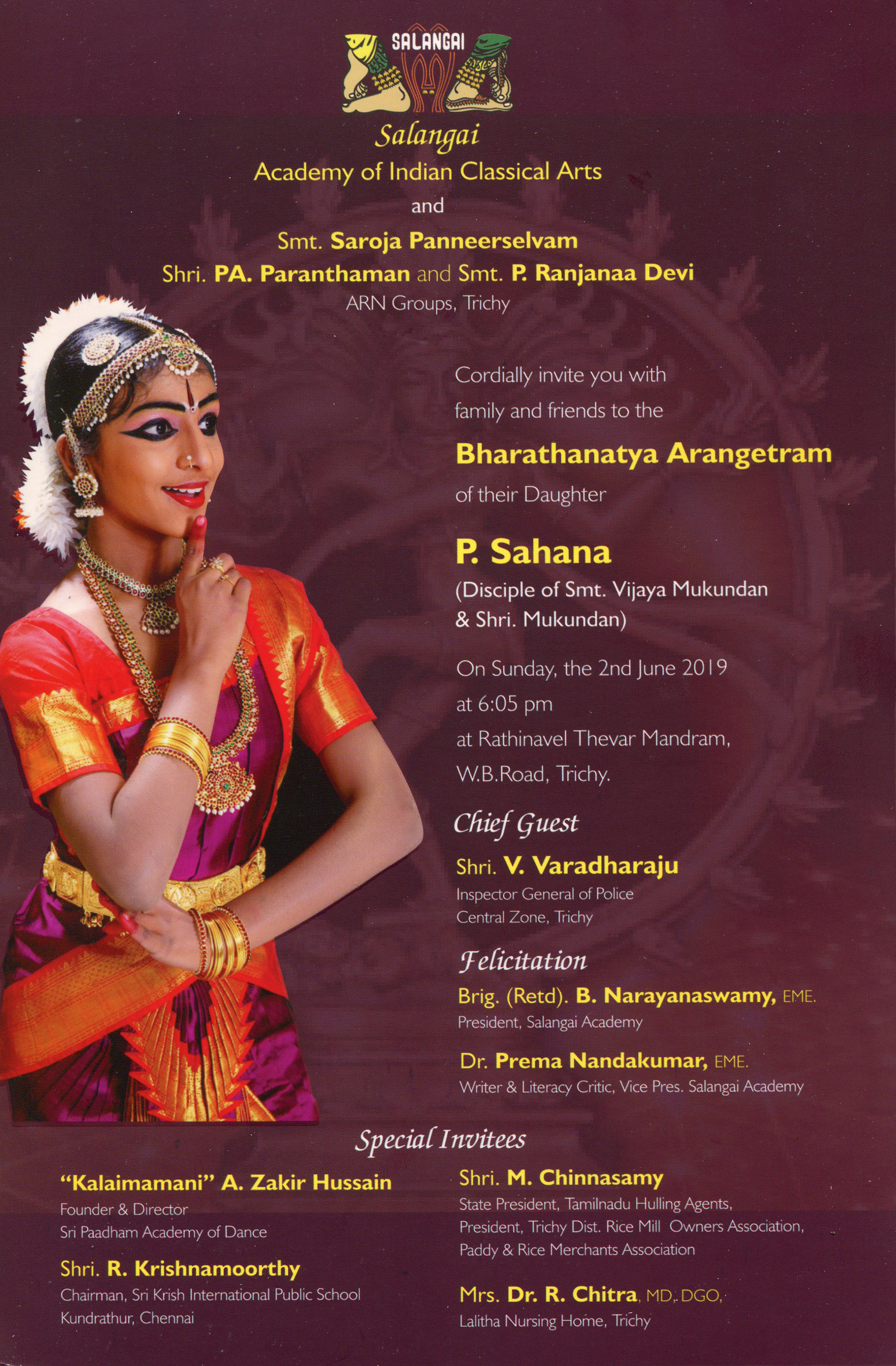 Salangai Academy of Indian Classical Arts