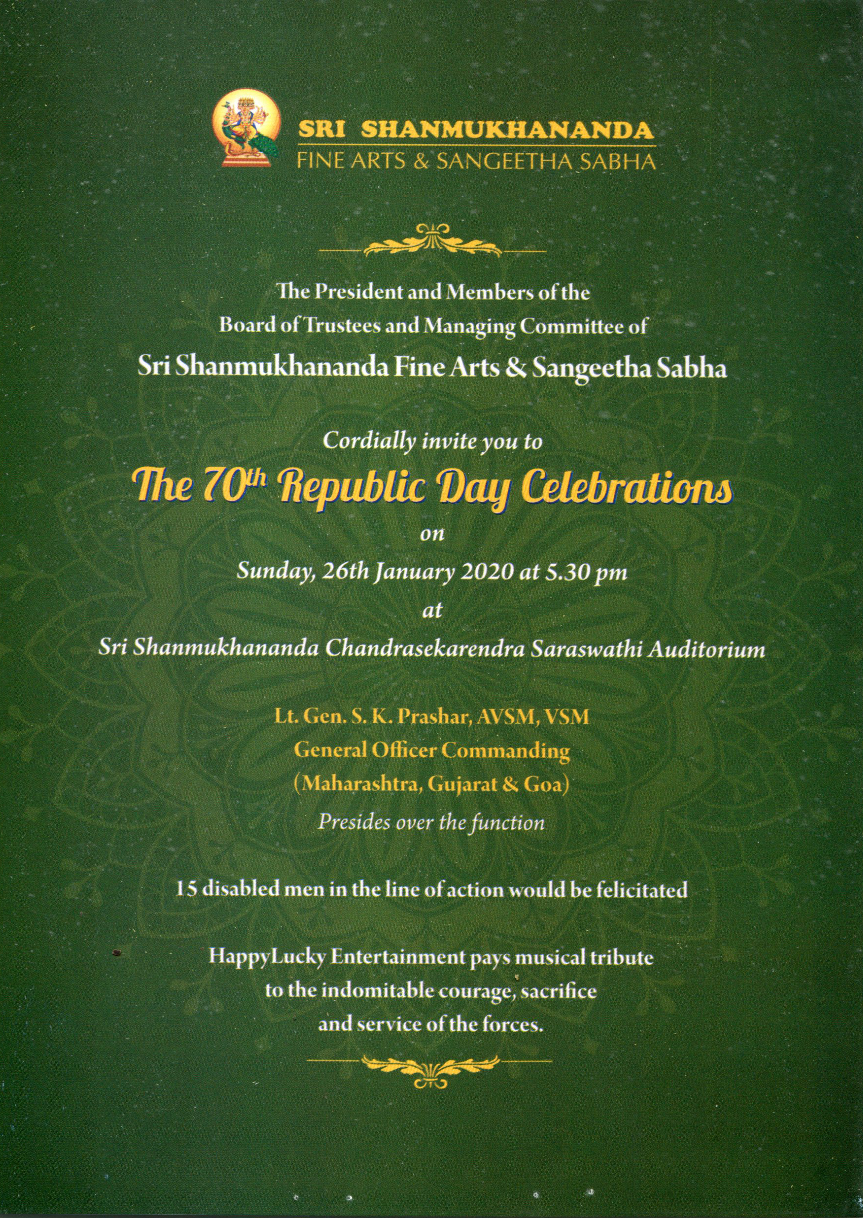 The 70th Republic Day Celebrations