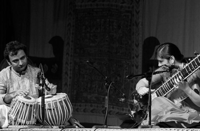 Anupama Bhagwat - Sitar & Rahul Pophali on the Tabla