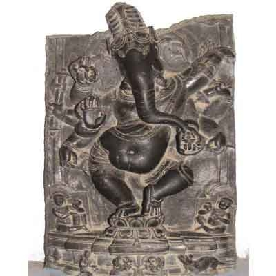 A dancing Ganesa from the Pala era