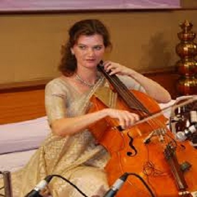 A Cellist in Hindustani music