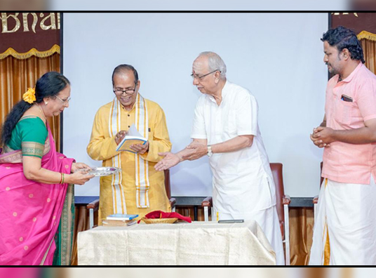 Dr. V. Raghavan's book released