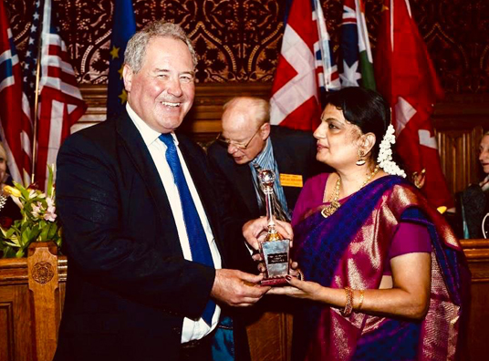 Global Achievement Award for Radhika Shurajit