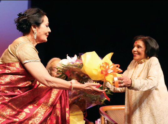 SUMITRA CHARAT RAM  LIFETIME ACHIEVEMENT AWARD