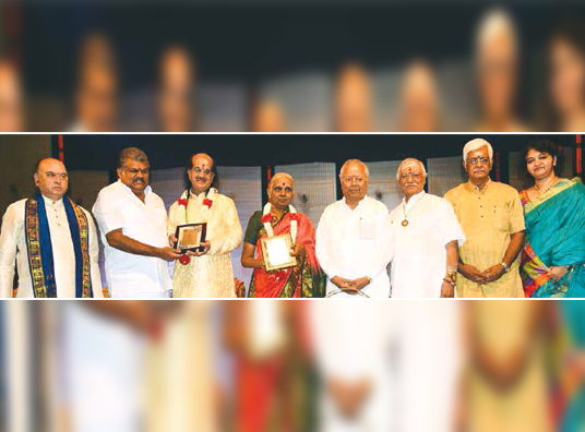 KGS Confers Choodamani Awards
