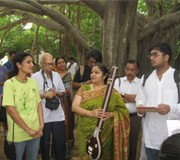 NEWS <br/> CHENNAI ROUNDABOUT <br/> Musical tree walks inform and delight <br/> RAJANI ARJUN SHANKAR with inputs from R.K. SHRIRAMKUMAR