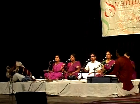 Music Academy Students at Svanubhava 2009