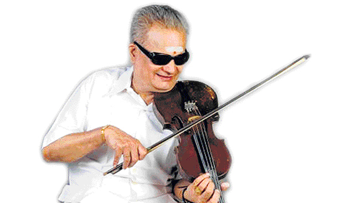 NEWS & NOTES <br /> Violinist M. Chandrasekaran feted at 80 <br /> by S. SIVARAMAKRISHNAN