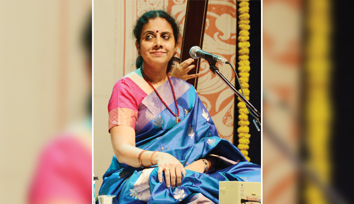COVER STORY <br /> GAYATHRI GIRISH: calm and composed as her music <br /> by Sukanya Sankar