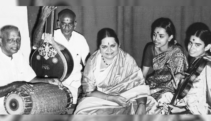 REMEMBERING : MLV Amma <br /> my guru and mentor <br / > by Sudha Ragunathan