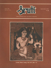 Carnatic Music During 1983-1993 (Part Iv)
